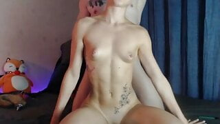 ArmChairSexperts - cute foxy showing off their muscles