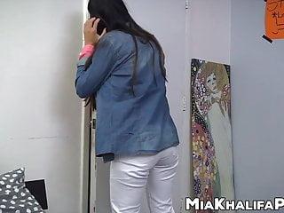 Pornstar mia presley - Gorgeous arab pornstar mia khalifa sucks dick with friend