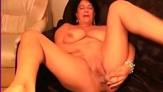 My MILF Exposed Plumpy wife with dildo