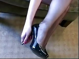 Sexy leotards shoes stockings lingerie Shoe love