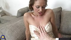 Sexy MILF gets hard sex with big cock