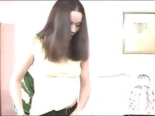 Kinky pantie sex Kinky babe playing with used panties