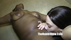 bathtub water licking pussy she nuts in the water