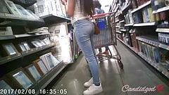 Sincero latina los adolescentes apretado jeans COÑO la brecha