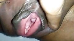 Radha showing depth of her vagina www e