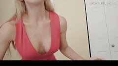 Horny big tits MILF fucks. Cum in mouth. Hot amateur whore