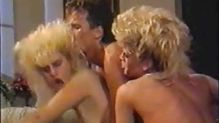 Vintage 1980s Group Sex Scene