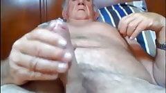 Stormbird1 horny mature grandpa wanking his cock