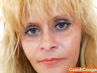 Fake cock - Vag fucking plus a fake cock with madame blonde
