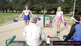 Swapping daughters and fucking them