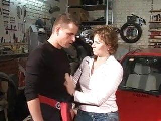 Parking garage sex - Garage sex
