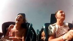 Rollercoaster boobs