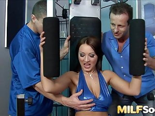 Chantelle houghton pussy out Milf chantel ferrera sucks two hard cocks before anal and dp