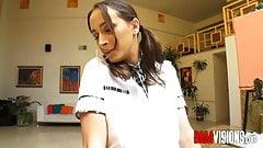 Bamvisions Anal Schoolgirl Ashley Adams