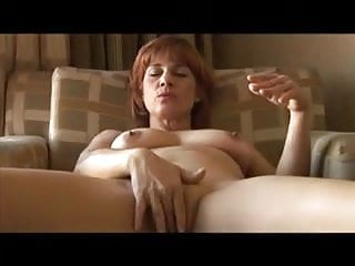 Mae nude cougar - Mature granny slut, fully nude, suck to completion