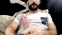 Sexy American Str8 Guy with Big Cock Shoots a Nice Load #227