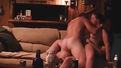 2 country boys dp a bar slut