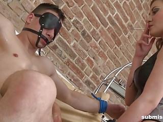 Mega tits teasing stories - Femdom mega compilation: foot fetish, teasing, pegging