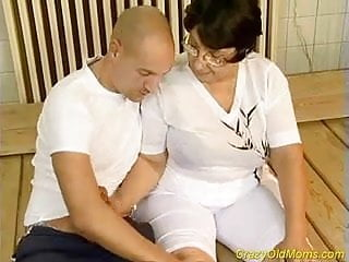 Mom oral sex videos Crazy old mom gets fucked hard and does oral job sex