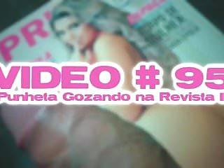 Porn revista Video 95 punheta gozando na revista ii
