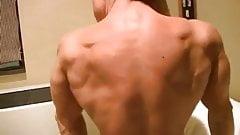 Fbb muscle flexing nude