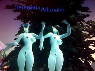 World hentai World of warcraft jerk off 3 - draenei sisters