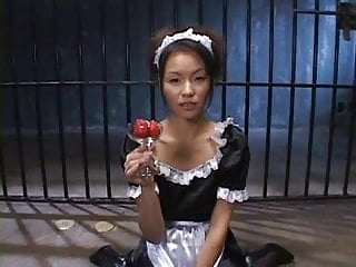 Girl eats cum from friend creampie - Japanese girl eats cum and strawbarries
