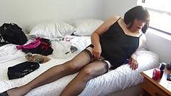 Nylon Sissy Cam Fun