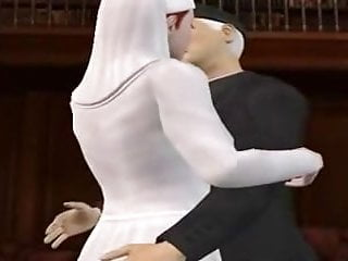 Slutty nun sex cartoon porn - 3d nun sucking dick