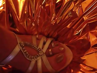 Art deco vintage jewellery Hot cum on jewellery feets in sexy heels