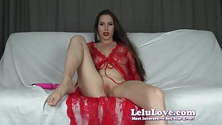 Lelu Love-Full Makeup Double Orgasm Cum Countdown JOI
