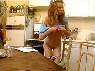 Old And Young Sex In The Kitchen
