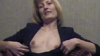 French mature in a homemade porn video