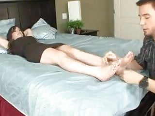Tits suckled - Honey suckle toes