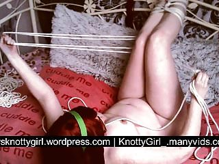 Nude self portrate Nude self bondage