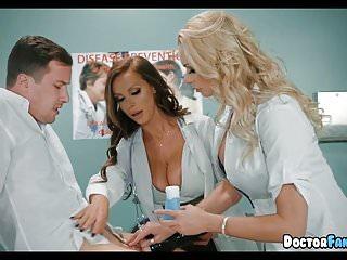 Asian hospital doctors - Horny milf nurses at the hospital