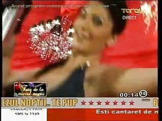 Naked tv com Stunning romanian girl anne dancing naked on tv