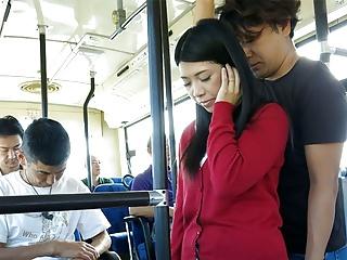 Bus videos japanese sex Molester japanese
