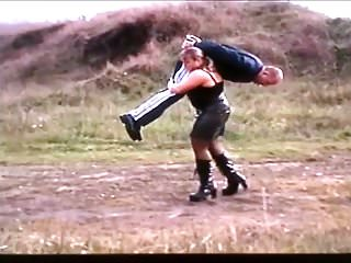 Shoulder penetration whitetail Hijacking a guy by over shoulder lift