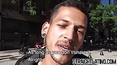 Latino man prostitutes himself for money but becomes gay