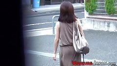 Hot asian babes with small tits filmed
