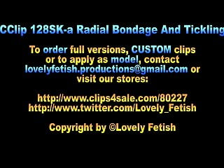 Blonde teen naked tickling - Clip 128sk-a radial bondage and tickling-06:15min, sale: 8