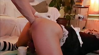 maggie-er-bij SISSY MAID GOT FISTED BY ANOTHER SISSY
