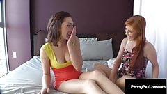 Butt Fucking Penny Pax & Lily LaBeau, Eat Some Tangy Ass!