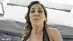 Throated - Cherie DeVille Begs For A Throat Fucking