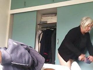 Granny tit voyeur video - Granny full frontal