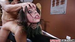 Dominating sexy teen Gina Valentina