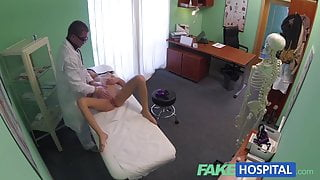 FakeHospital Doctor gives a strong orgasm to fit young girl