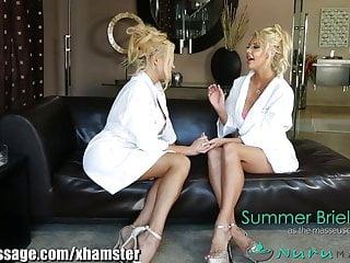 Video of erotic massage - Nurumassage takuo erotic massage threesome