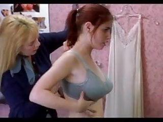 Nude galleries by bra size Lindsay felton - size em up bra scene